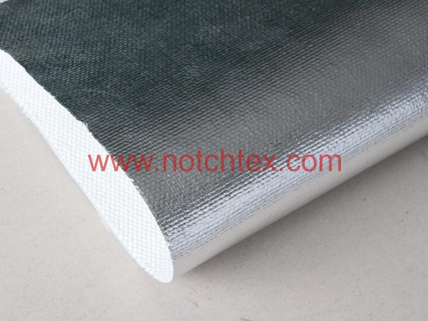 Aluminium Coated fiberglass Fabric