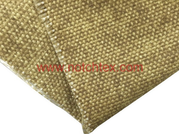 Vermiculite Coated Fabric Vermiculite Coated Fiberglass Cloth