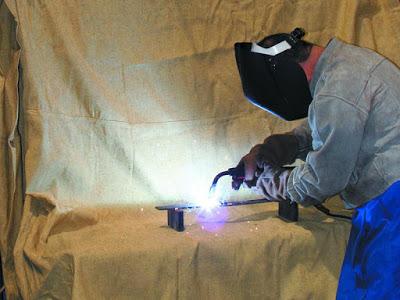 welding blanket protection